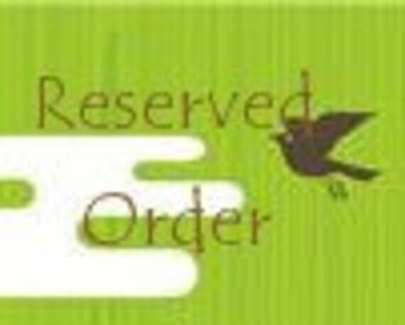 """Custom Reserved Order 76"""""""