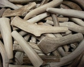 3 natural antler dog chew treats pet food deer toy antlers real