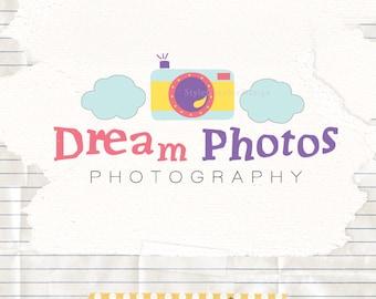 Dreamy photographer logo  - wedding photography logo - photography logo design