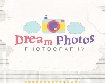 Dreamy photographer logo  - wedding photography logo - business logo - photography logo design