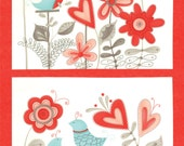 Flirt Fabric Collection by Sandy Gervais 17700-12 - 1 Panel