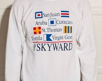 Caribbean Sweatshirt - SKYWARD - Hip Shirt - L