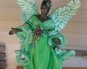 Ceramic Christmas Angel