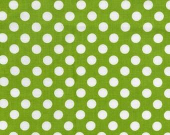 Spot On Lime Dots From Robert Kaufman