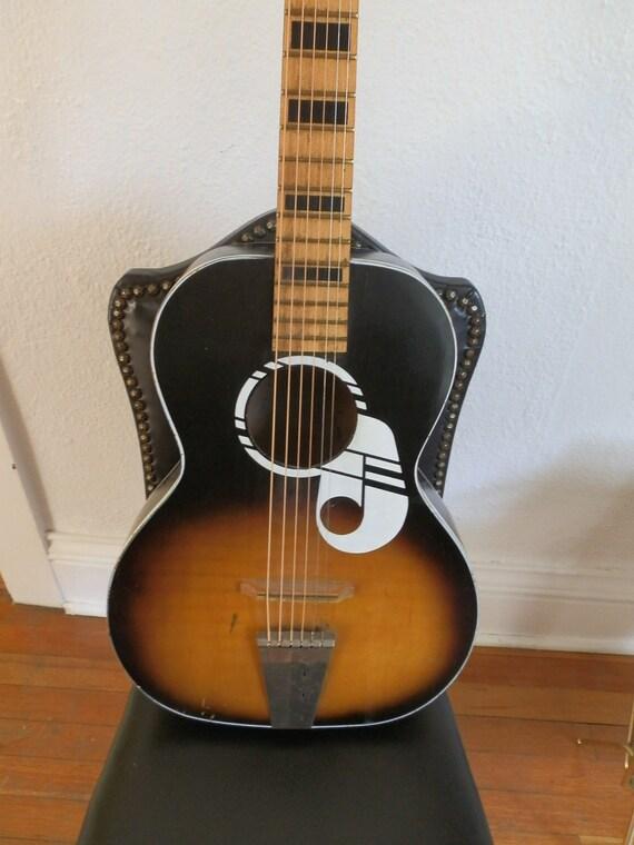 Kay. Acousyic Guitar. 6 string. Vintage.