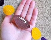 LSU Football Felt Garland - 5 ft Purple and Gold for Tailgating Party