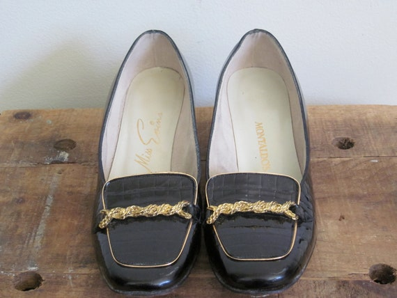 Montaldos 60s Shoes Leather Shoes Women Jackie Kennedy