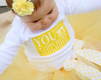 You Are My Sunshine Tutu Set