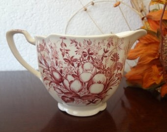 Vintage Johnson Brothers Creamer - Dover Mulberry