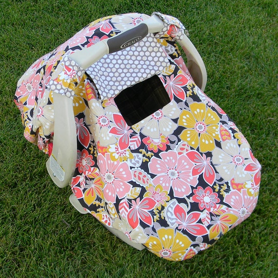 fitted infant car seat cover canopy tent
