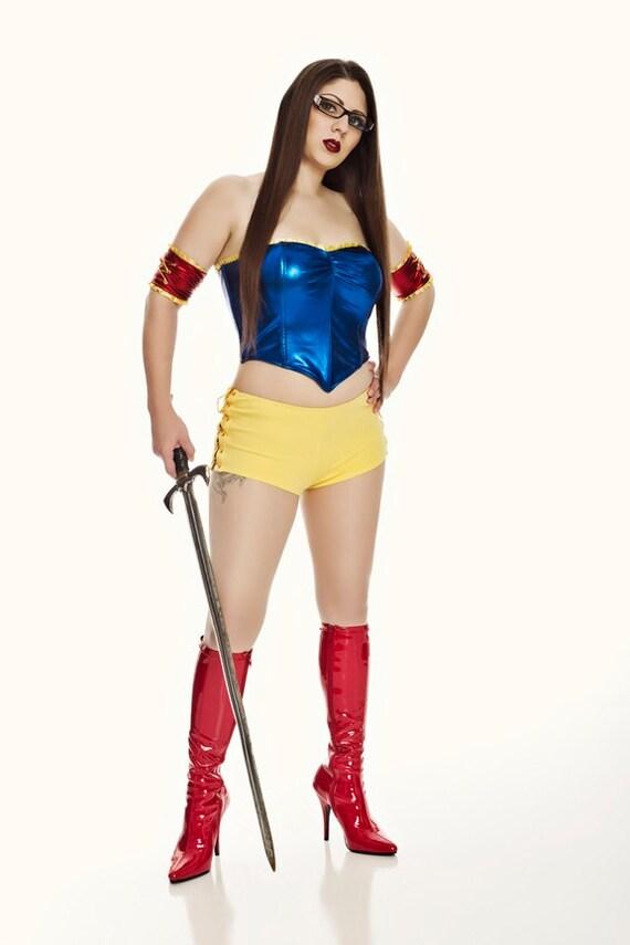 Snow White Hero Shorts Costume By Princessnightmare On Etsy