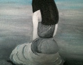 framed kneeling