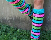 "Reserved Custom Listing For: ""asuwish18"" - Custom Leg Warmers & Matching Gloves"