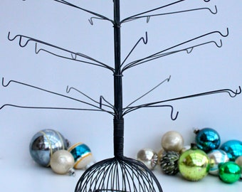 Vintage wire christmas tree