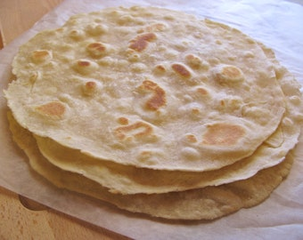 Favorite Flour Tortillas Homemade