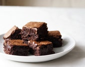 Gooey double chocolate chip brownies Box of 12