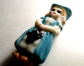 Frozen Charlotte, Knick Knack, Miniature, Figurine, Tiny, Bisque Doll, for Knick Knaks Shelf, Vintage