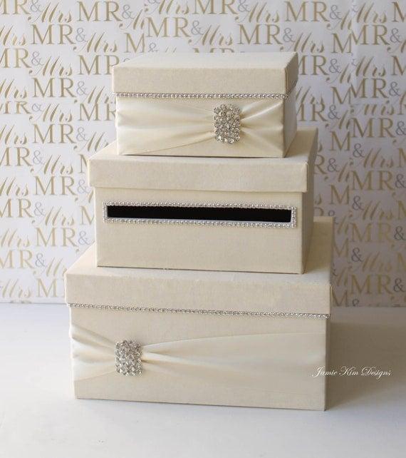 Wedding Gift Cash Check Or Gift Card : Wedding Card Box, Money Box, Wedding Gift Card Money BoxCustom Made ...