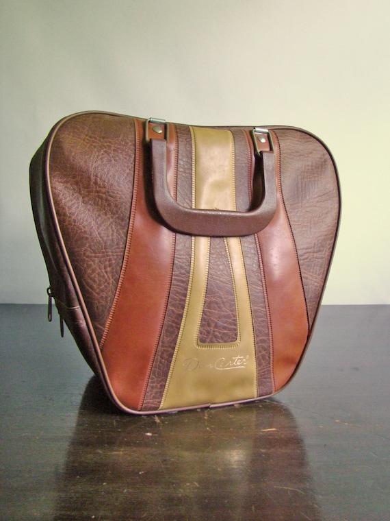 vintage Don Carter bowling bag in browns