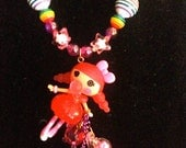 Lalaloopsy bubbles smack n pop sweet candy bubble decoden deco den Harajuku Kawaii Necklace
