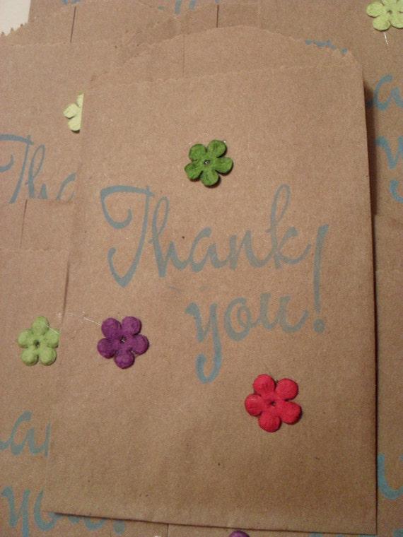 RESERVED LISTING  Bags / Paper bag / Thank You Bag / gift bag / Count 10