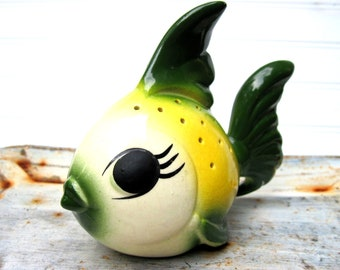Vintage pomander fish beach decor, beach bathroom,beach house
