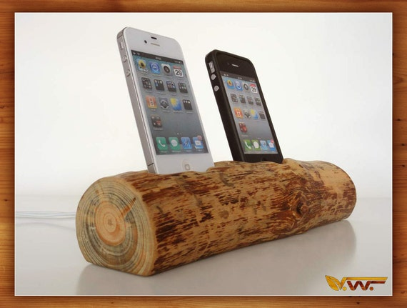 iPhone / iPod dual docking station - sync, charge, can serve as holder / stand, new iPhone 5 compatible