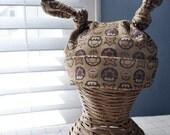 Baby Hat - Knit Mario Vintage 1UP Girl - Baby Geek