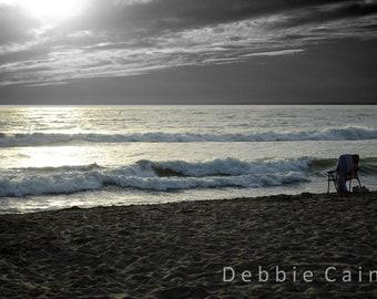 "5x7, Digital Print, ""Manresa State Beach"""