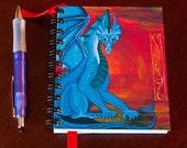 "Blue Dragon Journal, 100 pages (recycled paper), 4.x25""x5.5"""