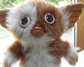 Vintage Gremlins Gizmo Stuffed Squeaker Animal