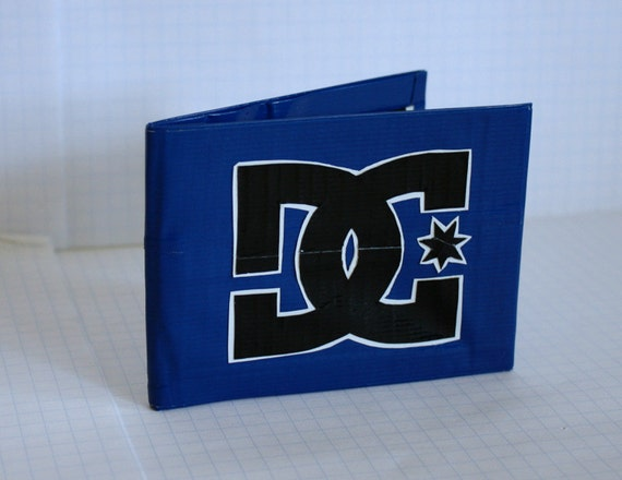 DC Duct Tape Wallet - Blue