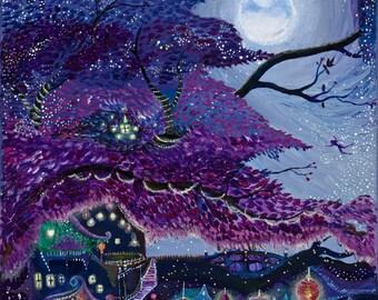 Print, My Purple Dream