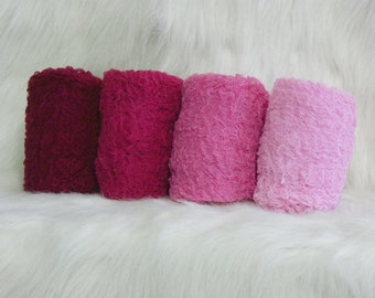 Photography Props...Hand Dyed Cheesecloth Wraps...Baby Photo Props...Pink Wraps