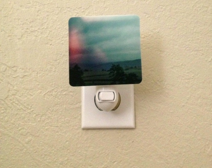 IN STOCK Photo Night Light for Nursery of East Coast Landscape
