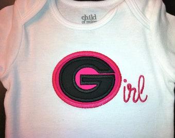 University of Georgia Shirt for Girls - Georgia Girl - UGA Bulldogs