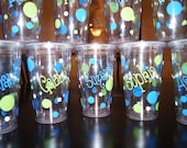 Reserved Listing for Julia B.  - Set of 18 Tumblers
