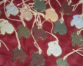 Pottery Mini Mittens Ornament