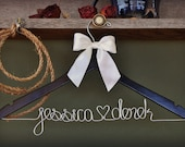 Wedding Dress Hanger by Whiskey & Wedding Bells