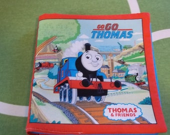 Thomas the Train Cloth Baby Book