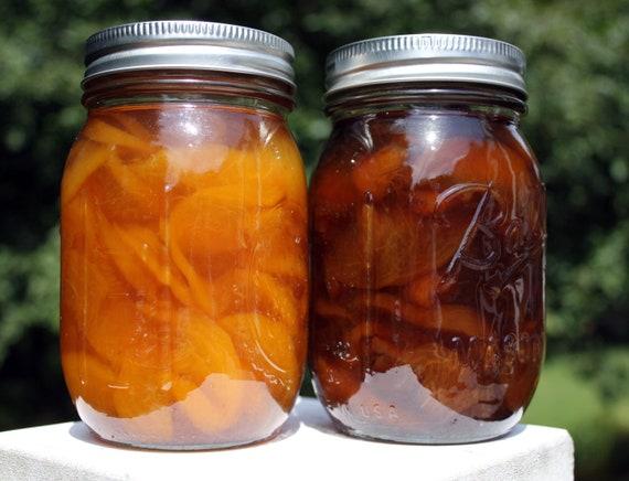 Organic Peach Preserves - 16 oz.