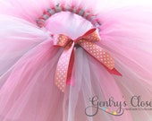 Baby and Little Girl Tutu. Birthday, Holiday, Football Princess, Ballerina Fluffy Tutu with Bow. Many Colors. Handmade.