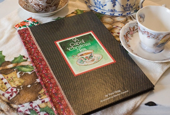Vintage Book - A Cup Of Christmas Tea
