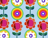 Rainbow Pattern Floral