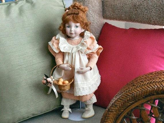 Vintage Diana Effner Porcelain Doll, dlrs89.90