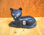 Vintage eveready cat bank advertising collectable - Artcapades