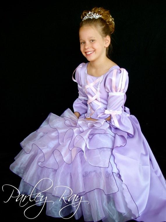 Tangled Wedding Dress Tangled Dress Pageant