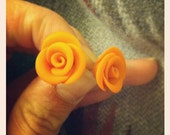 Sweet Potato Rose Studs