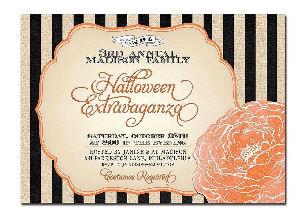 Costume Party Invitation as nice invitation design
