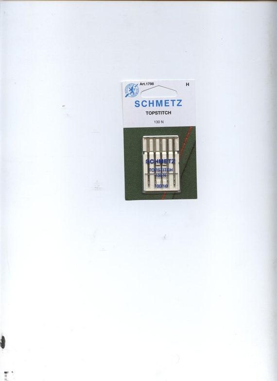 Schmetz Topstitch sewing machine  needles 5  count package